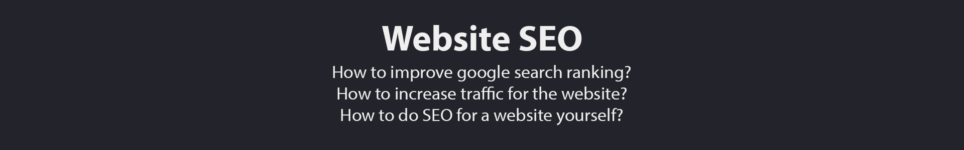 SEO for startups & small business