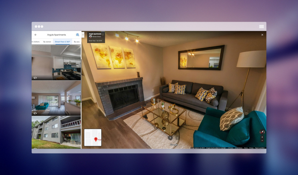 Google Business Virtual Tour